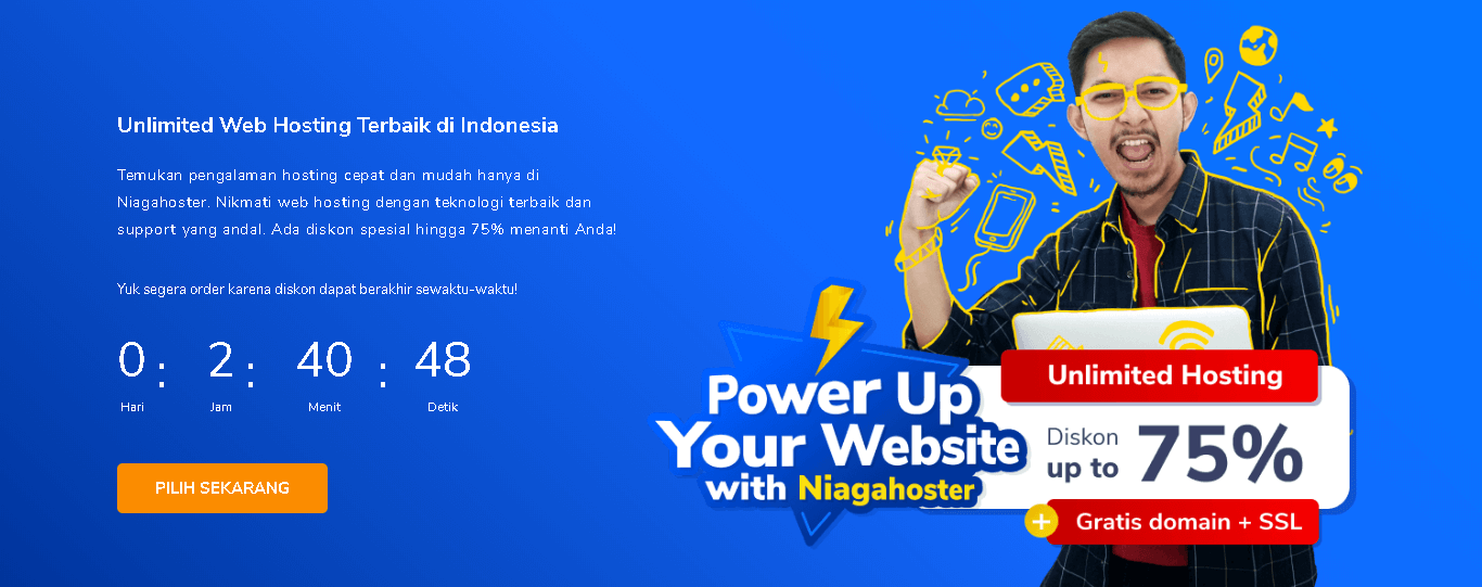 indonesia landing page niagahoster