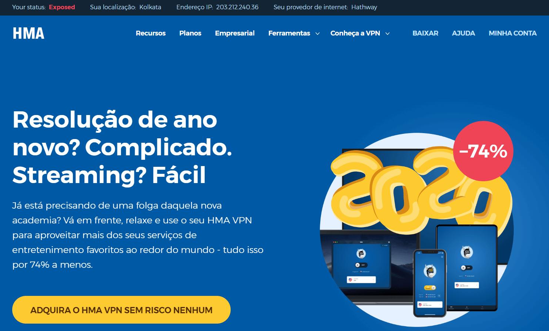 HydeMyAss Homepage Brasil