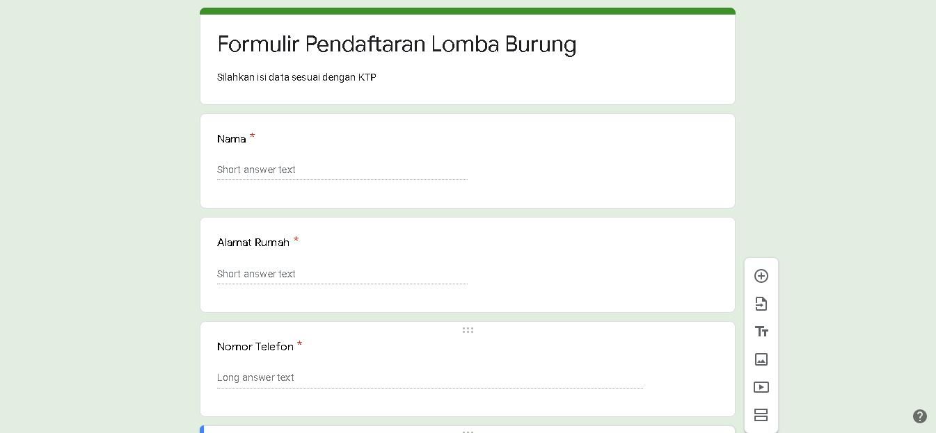 Cara Membuat Google Form Forrst