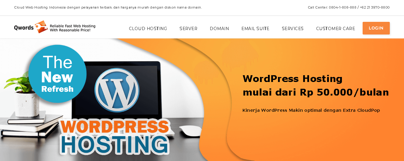 landing page qwords indonesia