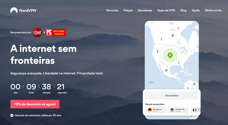 nordvpn homepage brasil