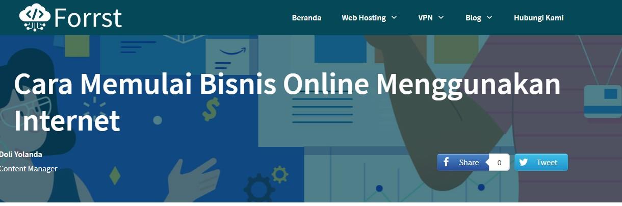 membuat tampilan blog seperti website