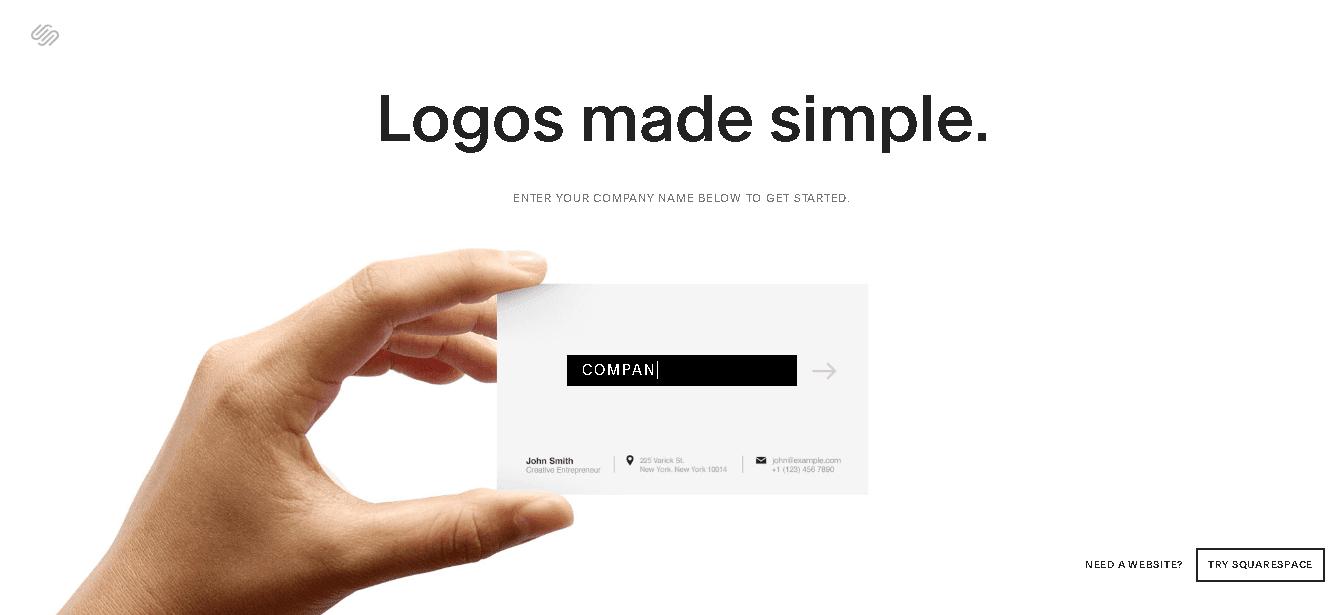Square Space Logo Creator