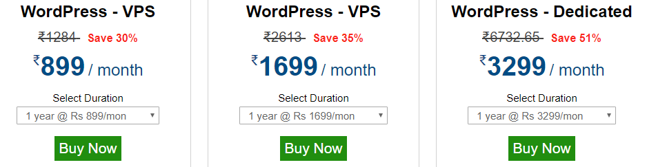 Hosting Raja Wordpress Web Hosting Plans