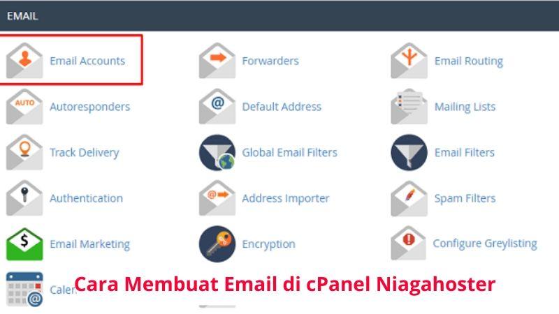 Cara Membuat Email Di Cpanel Niagahoster Forrst