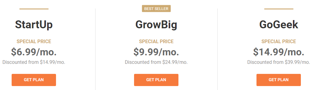 SiteGround vs Bluehost Pricing