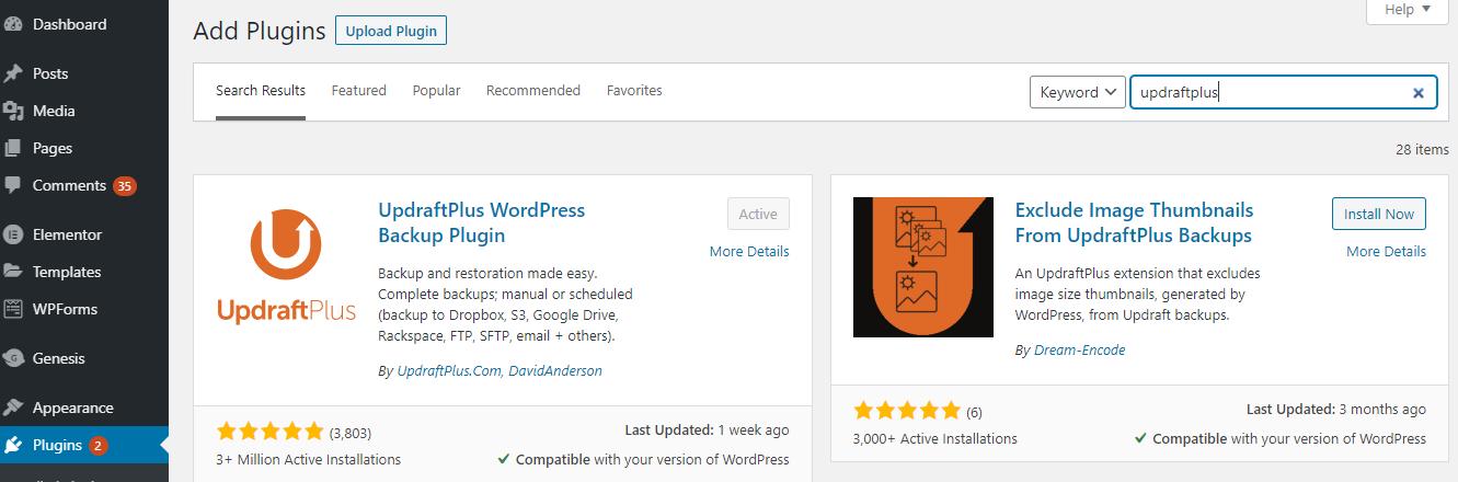 Transfer WordPress Website
