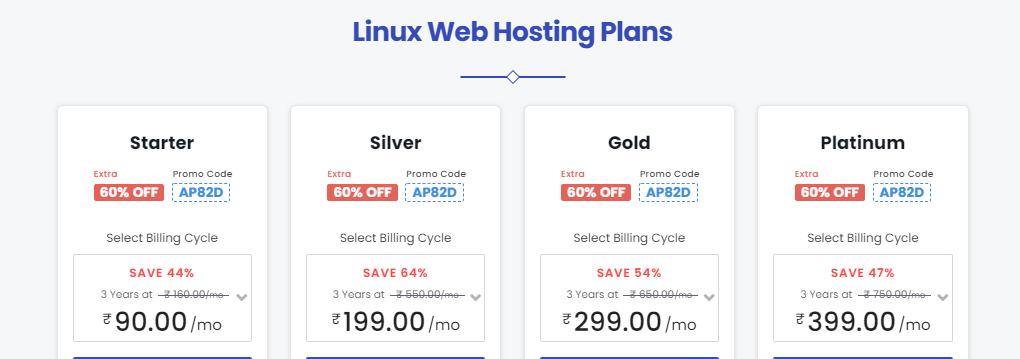 parallax hosting plans