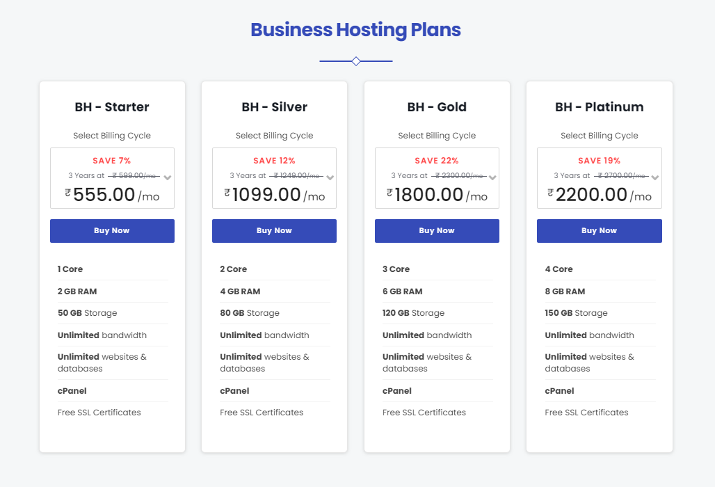 parallax hosting review price