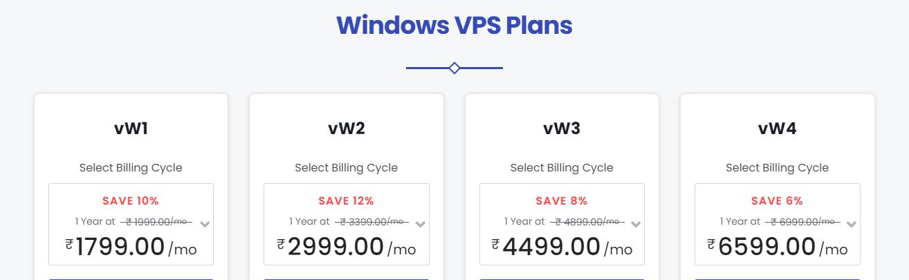 windows vps parallax hosting