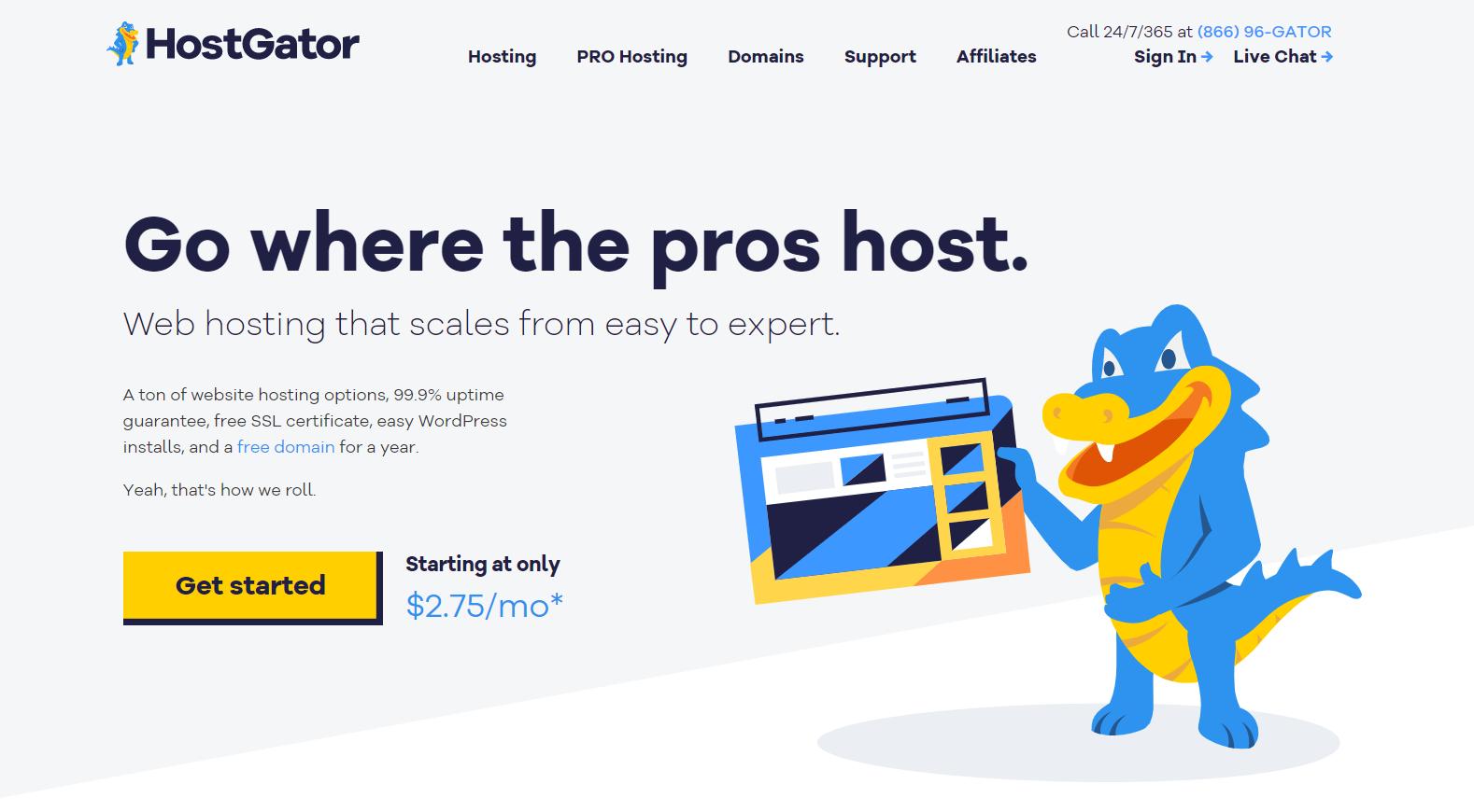 hostgator vs hostinger
