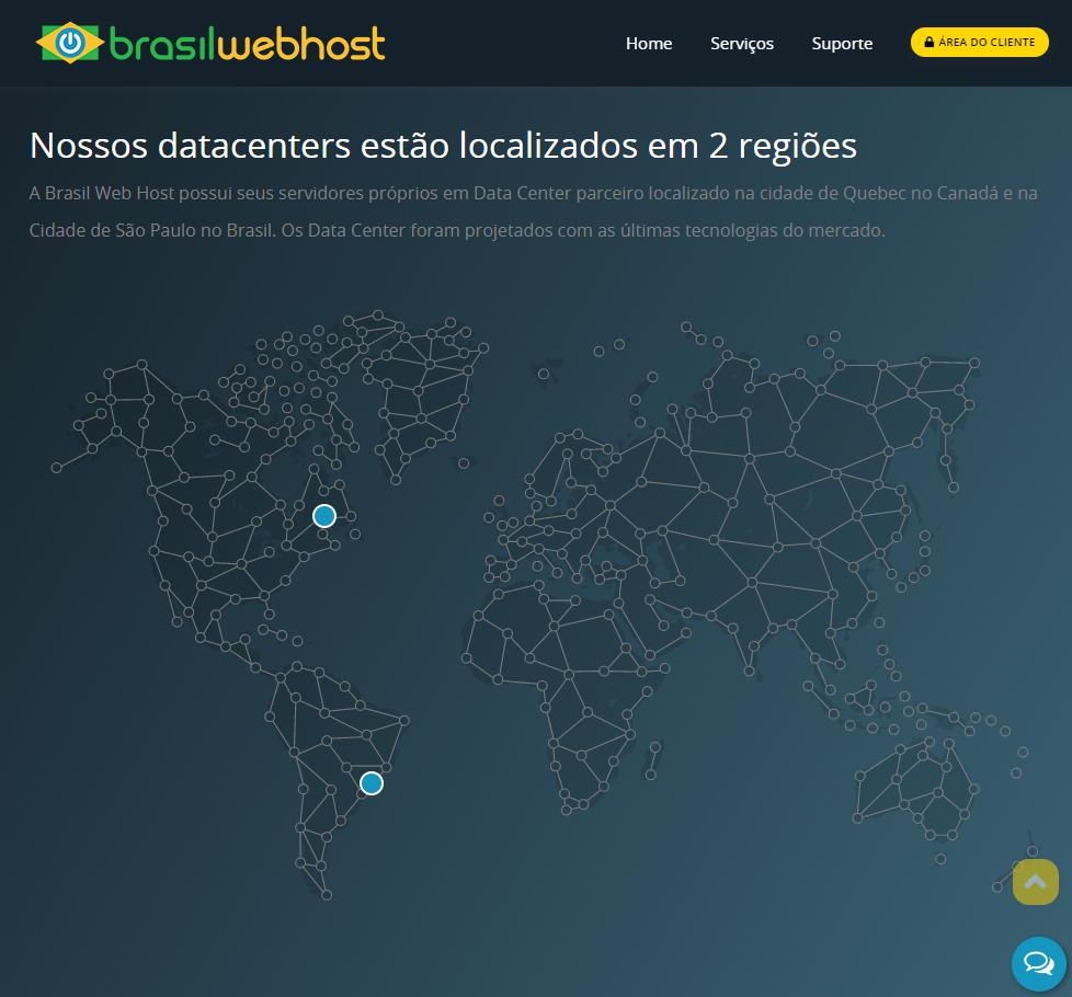 Visão Geral da BrasilWebHost