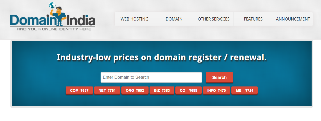 Domain india overview
