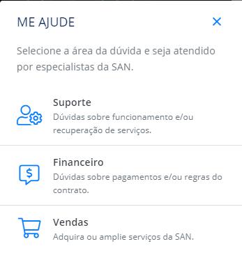 Site e atendimento em português