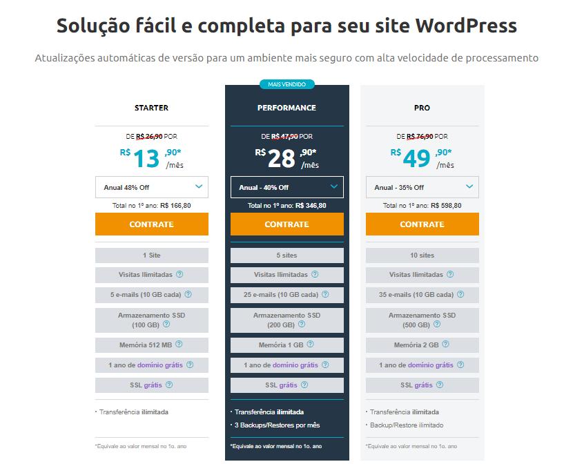 locaweb para seu site wordpress